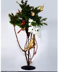 Auckland Branch 50th Anniversary Ikebana Exhibition & Ken Katayama's Demonstration