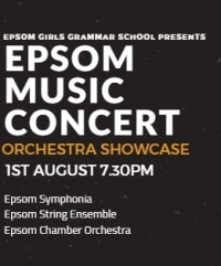 Epsom Music Concert – Orchestra Showcase