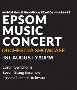 Epsom Music Concert – Orchestra Showcase