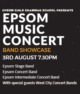 Epsom Music Concert – Band Showcase