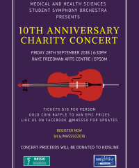 MHSSSO 10th Anniversary Charity Concert