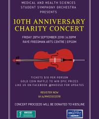MHSSSO 10th Anniversary Charity Concert