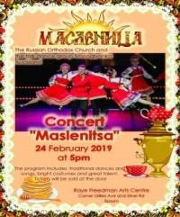 """Russian Dance & Song Concert """"Maslenitsa"""""""