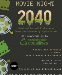 Fundraiser: 2040 Movie Night