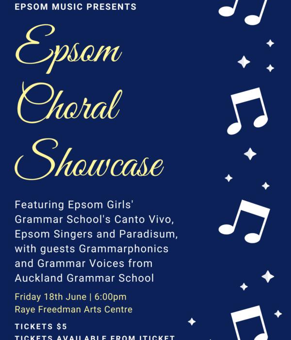 Epsom Choral Showcase
